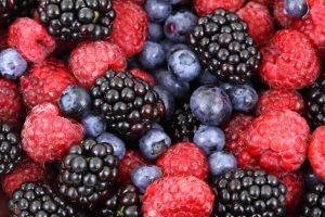 Beeren zum Nachtisch