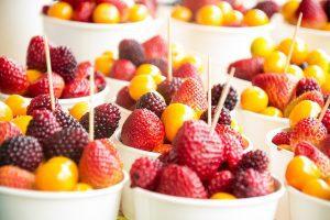 Früchteteller zum Nachtisch
