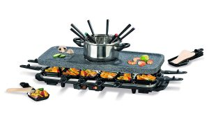 GOURMETmaxx 05897 Raclette & Fondue Set