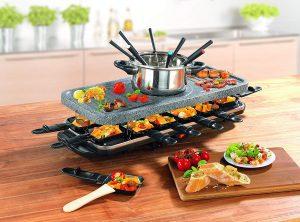 Raclette und Fondue Kombi